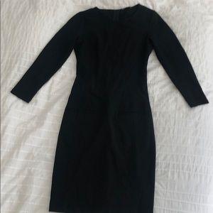 Theory stretchy bodycon dress